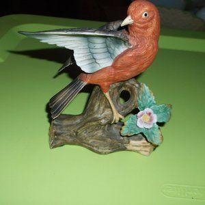 lefton bird figurine. vintage